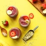Banana Berry Hemp Seed Pudding Minimalist Baker Recipes