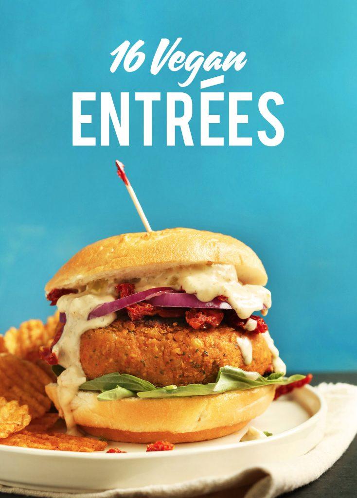 16 Easy Vegan Entrees Minimalist Baker Recipes