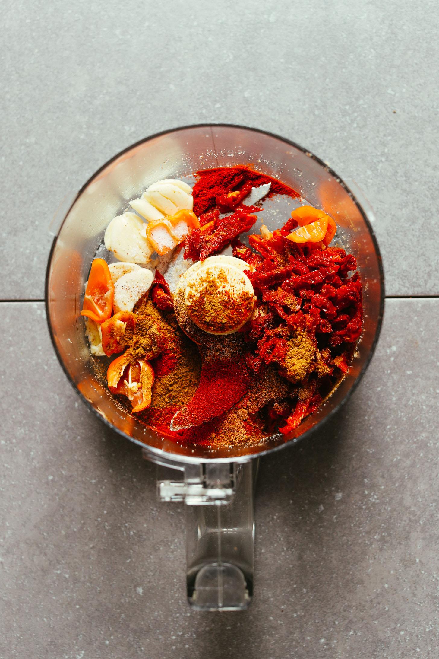 Raw Vegan Walnut Taco Meat Minimalist Baker Recipes