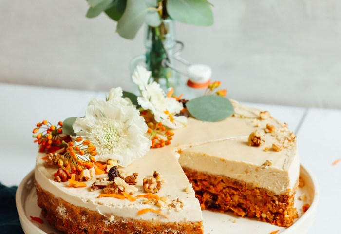 Raw Vegan Carrot Cake Minimalist Baker Recipes