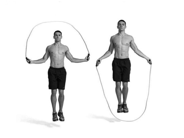 jump the rope calisthenics