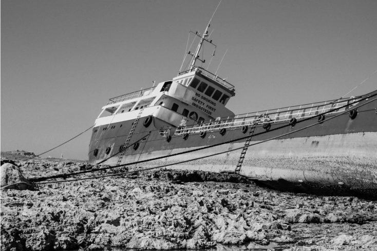 barca alla deriva