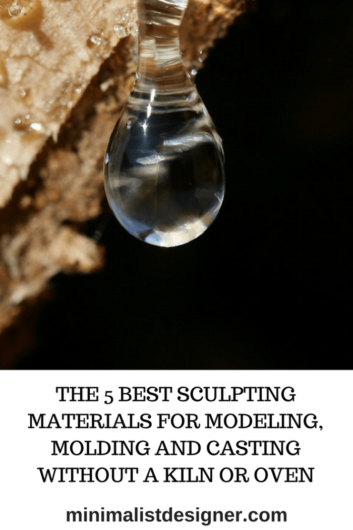 The 5 best sculpting materials for modeling, molding and casting without a kiln or oven