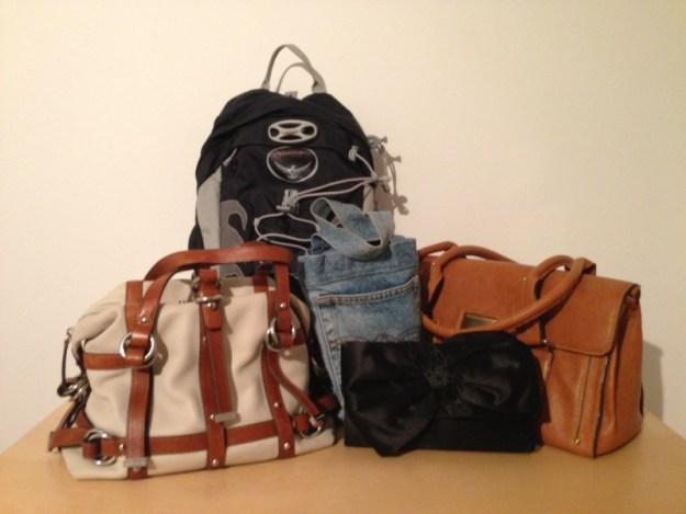 Kvarvarande Väskor