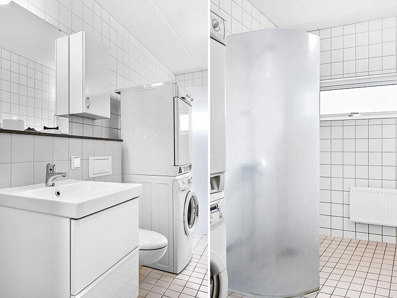 Förvaring i minimalisternas badrum - Minimalisterna