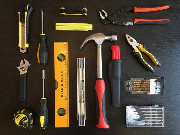 Nya slimmade verktygslådan