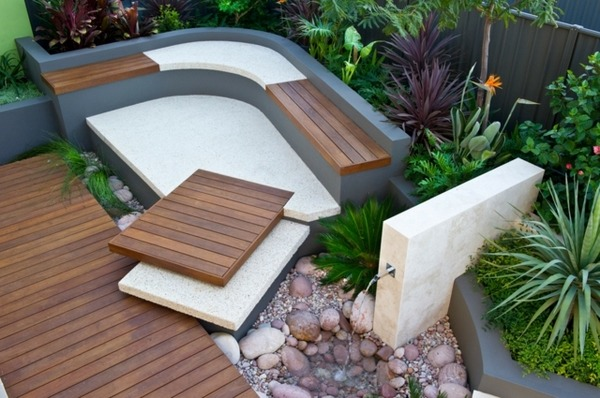 Small garden design - tips and ideas for a relaxing oasis ... on Small Garden Sitting Area Ideas  id=35575