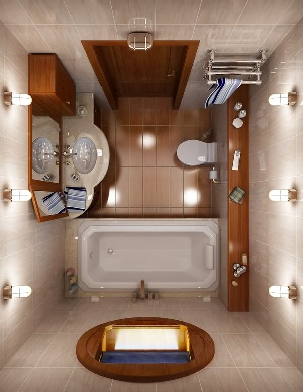 30 small bathroom designs - functional and creative ideas on Bathroom Ideas For Small Space  id=88138