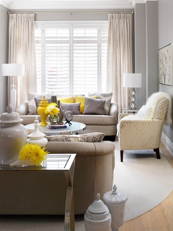 50 Decorating ideas for small living rooms - simple tricks ... on Small Living Room Decorating Ideas  id=91173