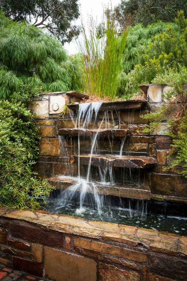 32 beautiful water features for gardens to create a true oasis on Waterfall Ideas For Garden id=15675