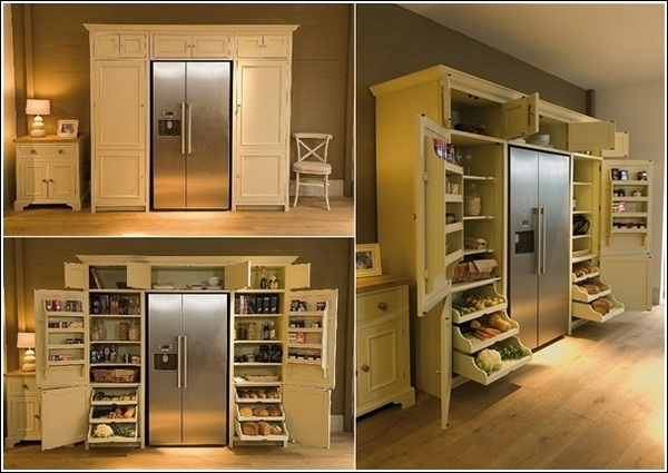 Pantry Cabinet: Free Standing Pantry Cabinets With Superb
