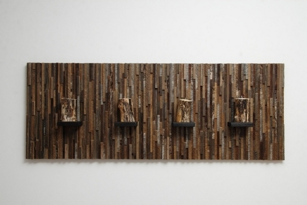 Modern Wall Art Ideas From Recycled Wood Brings Nature