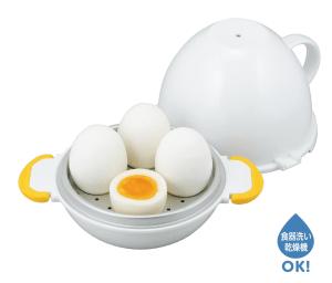 茹で卵を作れる便利グッズ