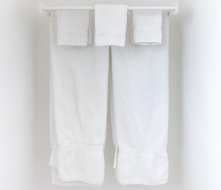 手拭き用タオル