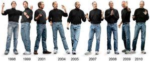 私服の制服化を実践しているスティーブ・ジョブズ
