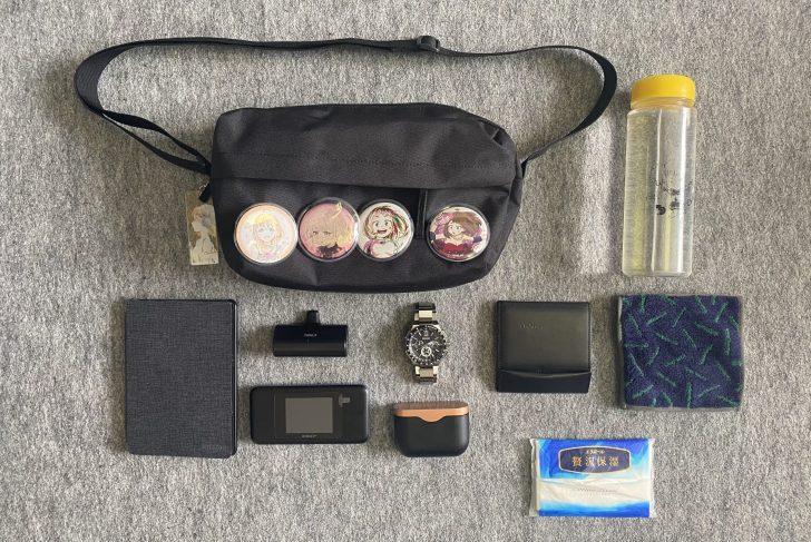 ミニマリストのEDC(everyday carry)