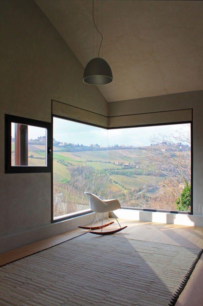 Eckfenster innenansicht  Die schönsten Eckfenster - MINIMAL IST MUSS