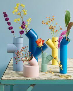 DIY Geschenke können richtig DELUXE sein. Auf minimalistmuss findet ihr eine ganze Sammlung dieser einzigartigen Selbstmachgeschenke. Hier DIY Rohrvasen