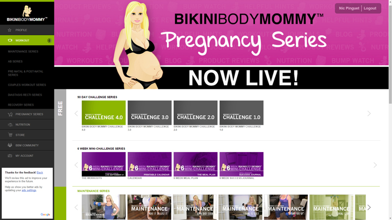 BIKINI BODY MOMMY review von minimalistmuss.com