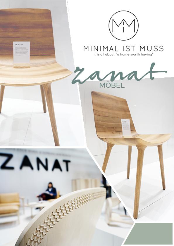 Holzstühle von Zanat. IMM 2016 my minimalistmuss.com