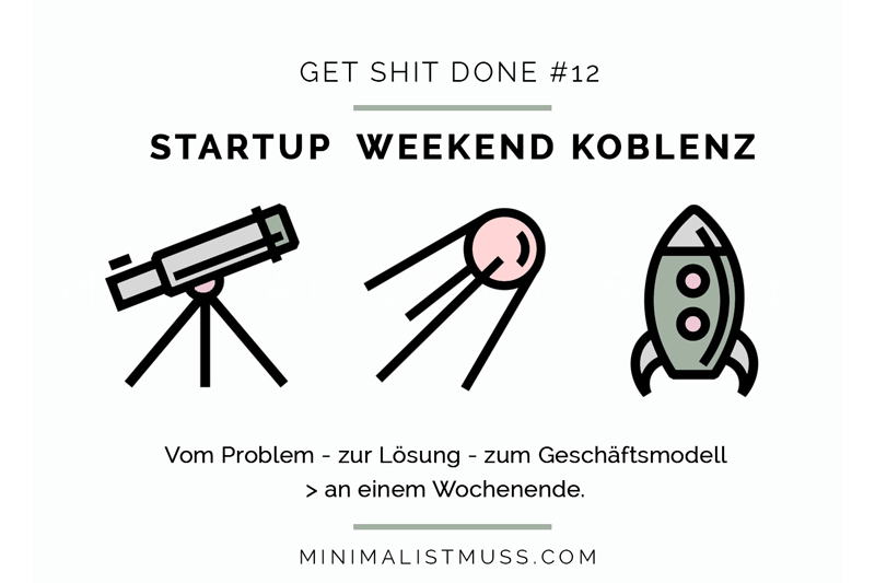 Startup Weekend: Konzeptfindung - wie wir zu unserem Geschäftsmodell fanden