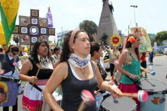 marcha drummers