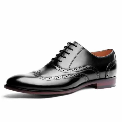2019 Oxfords Lace Up Dress Formal Shoes Mens Dress Oxfords Hot new Patent Lather