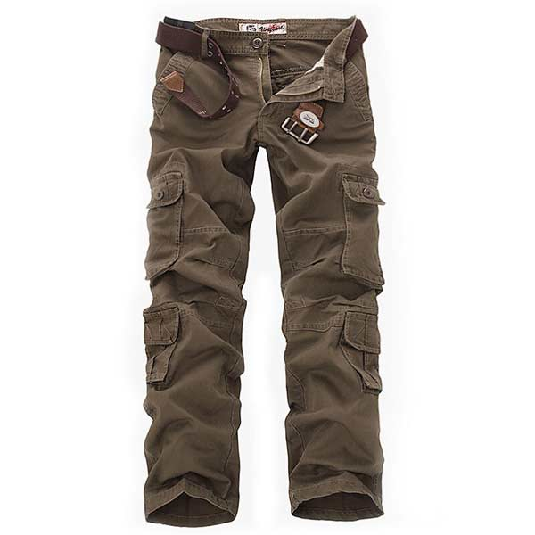 Men/'s Tactical Pants Multi Pockets Waterproof Trousers Military Hunting Clothing