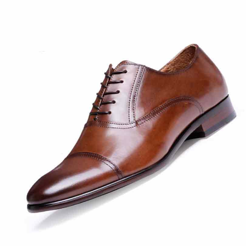leather business shoes