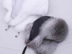 Real Fur Hat for Women