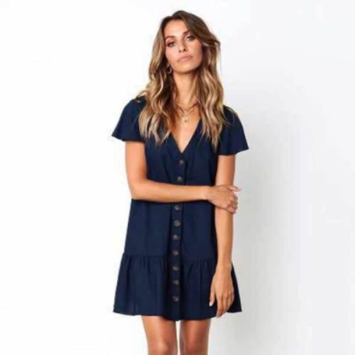 Cotton Linen Dress