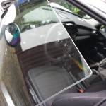 Mini Cooper Tür ohne Metallrahmen...