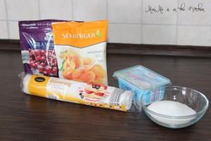 Aprikosenröllchen Zutaten