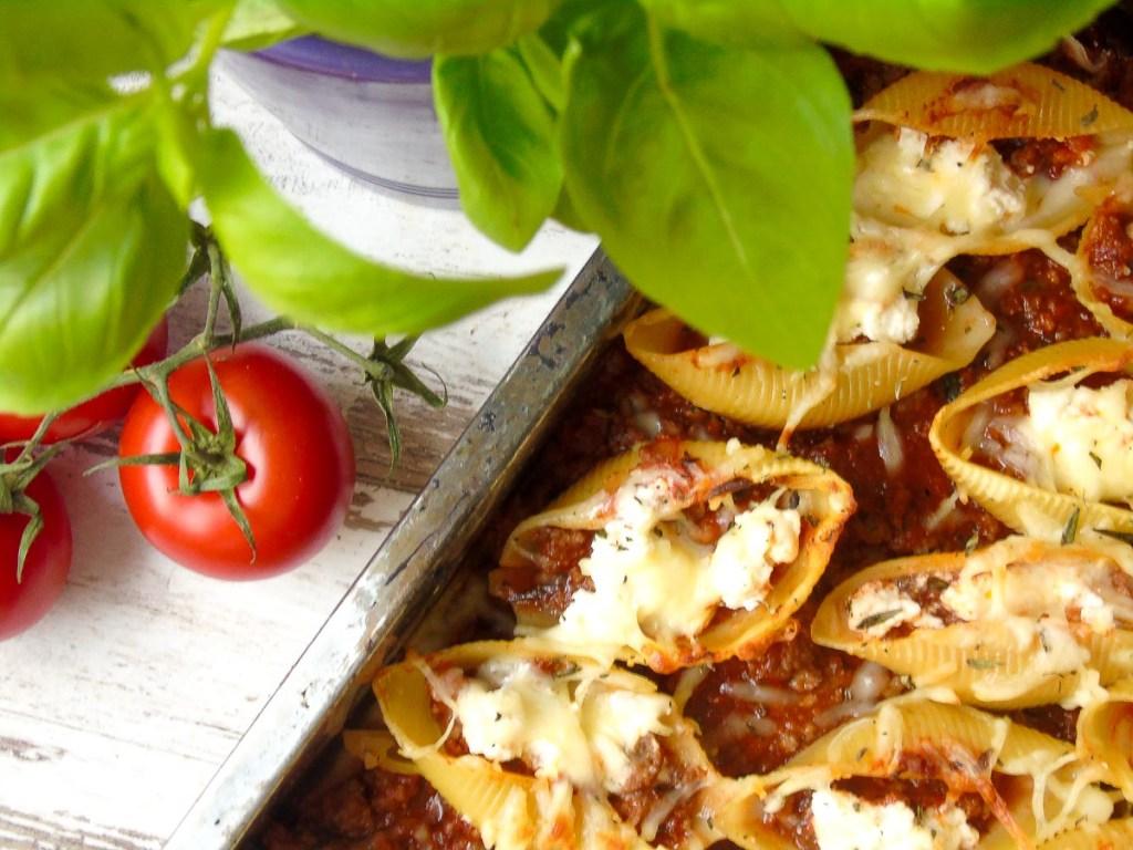 "Gefüllte Conchiglioni ""Lasagne-Style"""