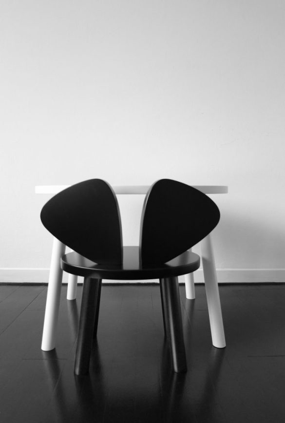 Mouse Chair kinderstoel Deens design Nofred