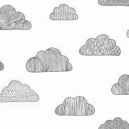 behang kinderkamer bestellen wolkenprint