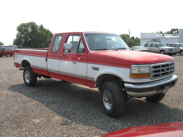 Ford F-250 4x4 ext-cab - $4000, already has a goose-neck hitch