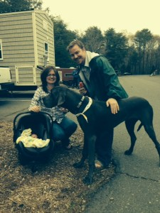 Family photo thanks to Teal at Wishbone tiny homes!!