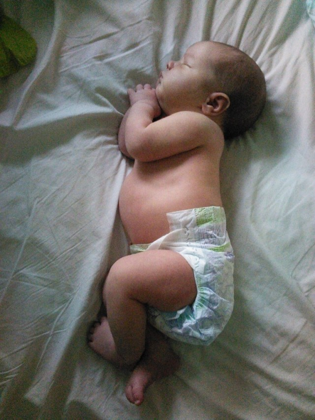 another favorite baby position :)
