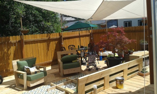 The deck is coming together
