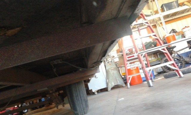 The under carriage