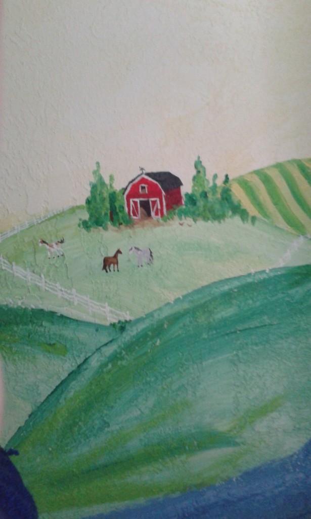 The first farm