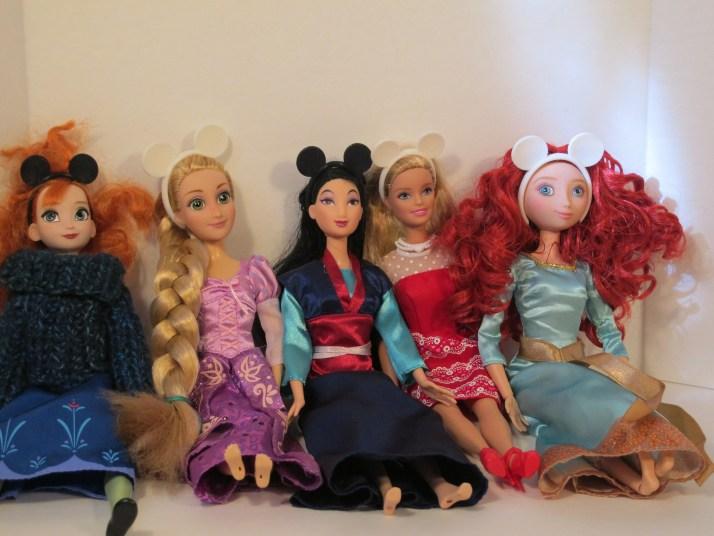 A few of my dolls modeling the ears