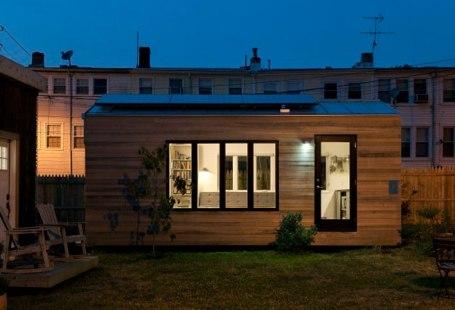 Viver em uma casa pequena é uma libertação?