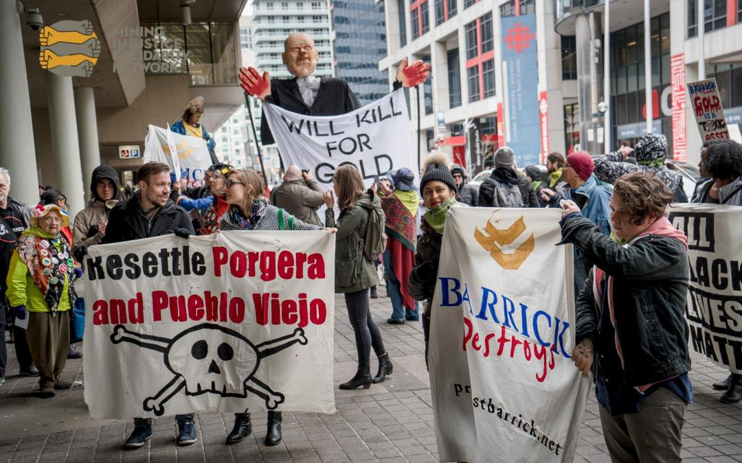 UPDATE: PROTEST BARRICK – Stand with communities demanding justice