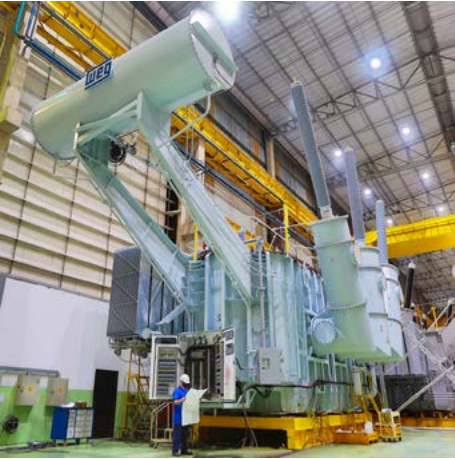 POWER UTILITY RELIABILITY BOOST FROM LARGE WEG TRANSFORMERS