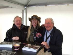 Jesse Nelson with Paddy Hopkirk