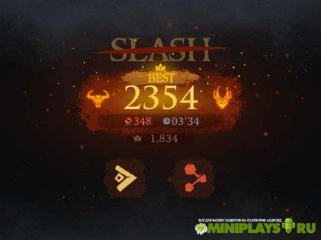 Dark Slash. Ninja