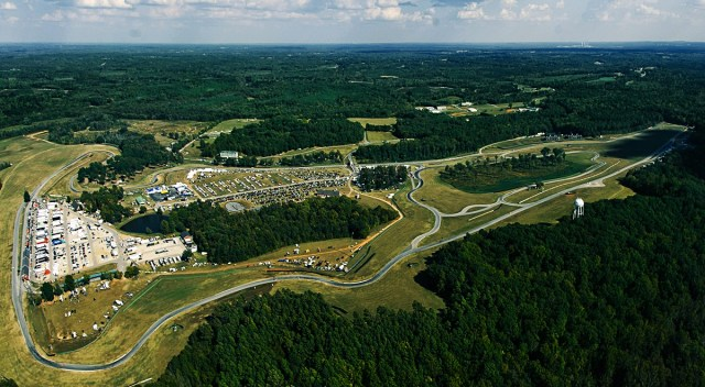 Overhead shot of VIR
