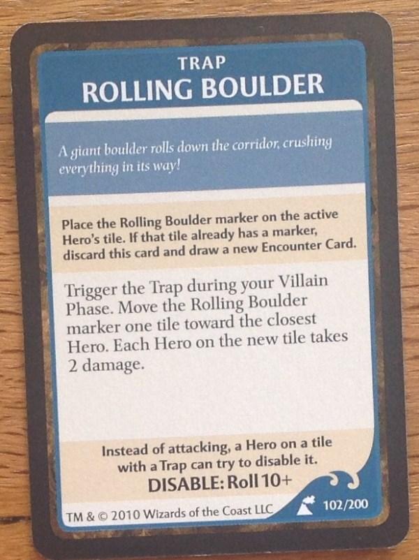 Rolling Boulder, Wrath of Ashardalon